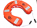 Horseshoe life buoy